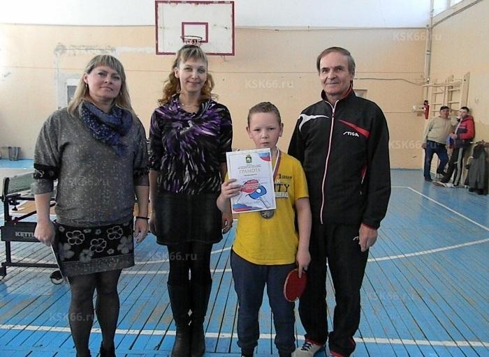 Николаев Андрей 2 место среди мальчиков 12-14 лет (Красноуфимская коррекционная школа)