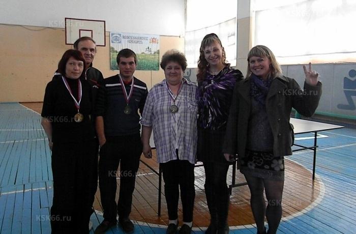 Победители Захарова Светлана, Ионов Николай, Смирнова Людмила (Общество «Надежда») и судьи