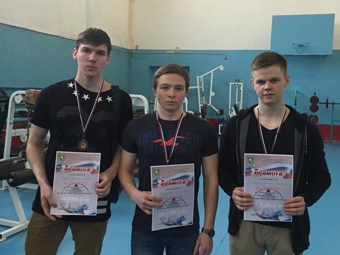 Победители в категории юниоры до 20лет. Кульков Евгений, Худяков Сергей, Злыгостев Виталий.