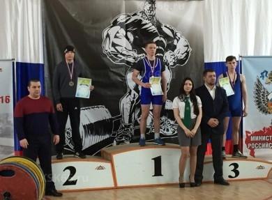 Победители и призеры среди юношей в категории до 59кг.