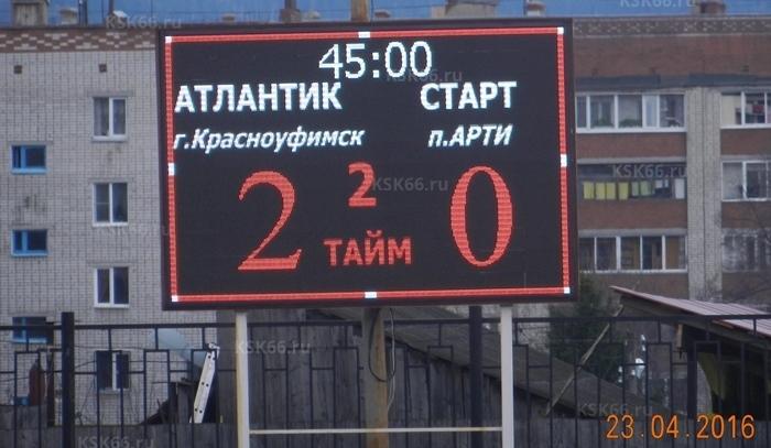 Победный счёт кубкового матча