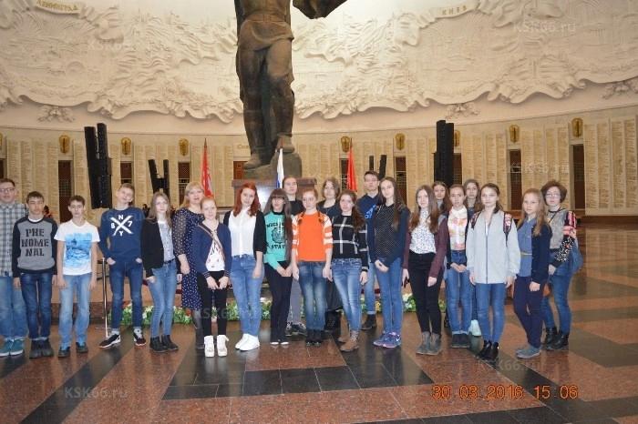 В музее Великой Отечественной войны