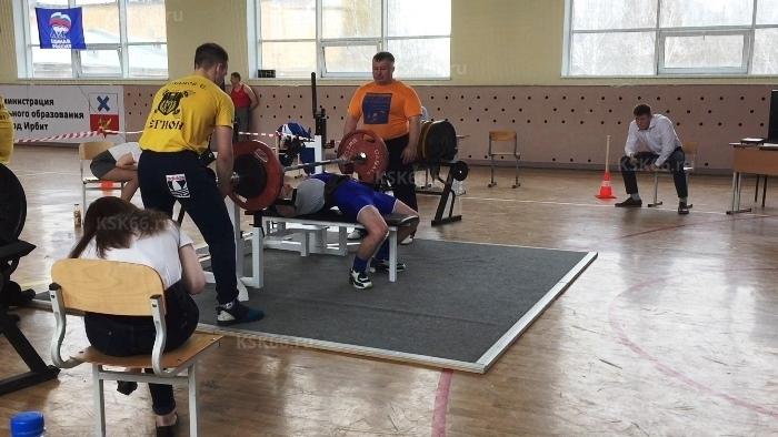 Павел Некрасов (шк №3), жим лежа - 85 кг