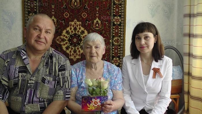 Посещение ветеранов Пьянкова