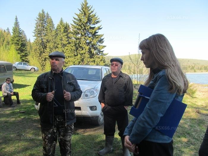 Представители рыбзавода и И.В. Борисовских