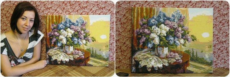Картины по номерам по фото на заказ