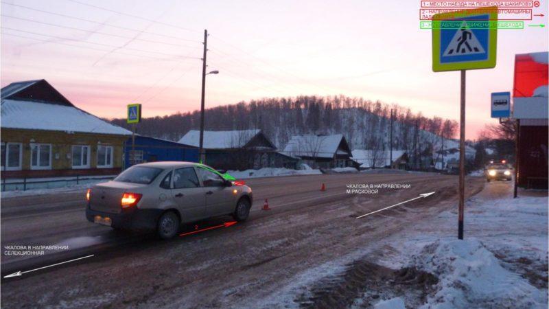 Скрытая камера аварии и пешеход